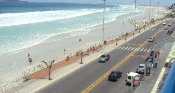 Orla da Praia do Forte será fechada neste domingo (8)
