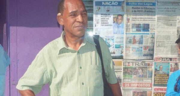 Sem compreensão: cabofrienses detonam novo aumento de impostos de Temer