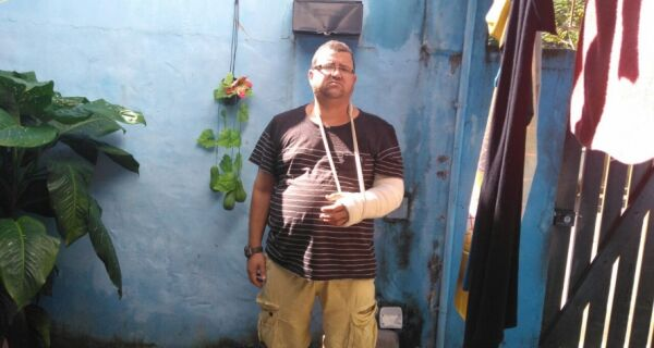 Inspetor escolar de Cabo Frio pode perder movimento dos braços