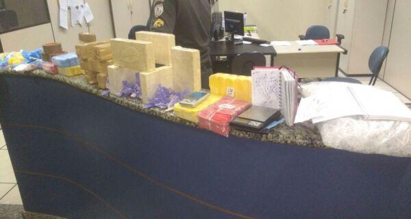 Polícia apreende 12 kg de pasta base de cocaína em Arraial