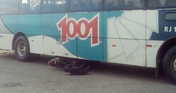Jovem atropelado por ônibus em São Pedro morre