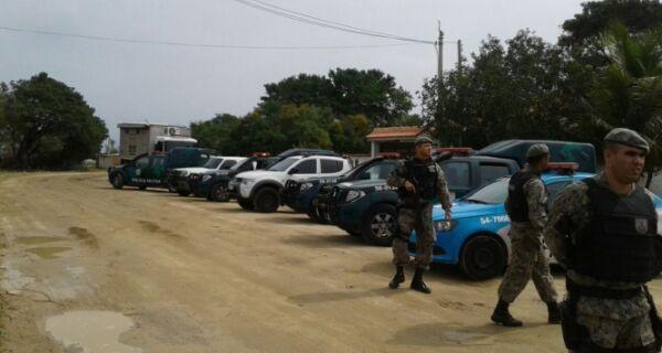 Órgãos ambientais fazem operação contra invasões nos distritos de Arraial