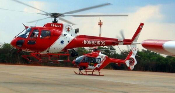Bombeiros terão helicóptero para resgates no próximo feriadão