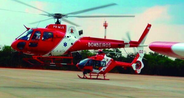 Helicóptero dos Bombeiros chega hoje à região