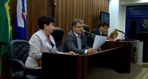 Vereador Luis Geraldo é favorito para eleição à presidente da Câmara