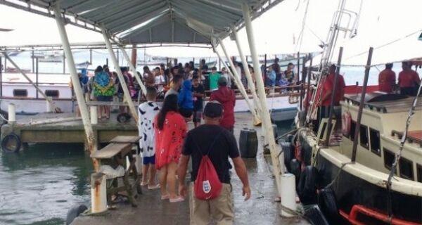 Pier dos Pescadores de Búzios é interditado