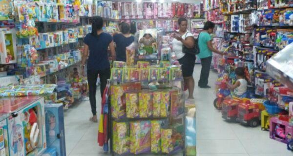 Dia das Crianças levanta vendas em Cabo Frio