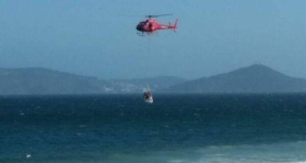 Bombeiros resgatam 379 do mar na Região dos Lagos
