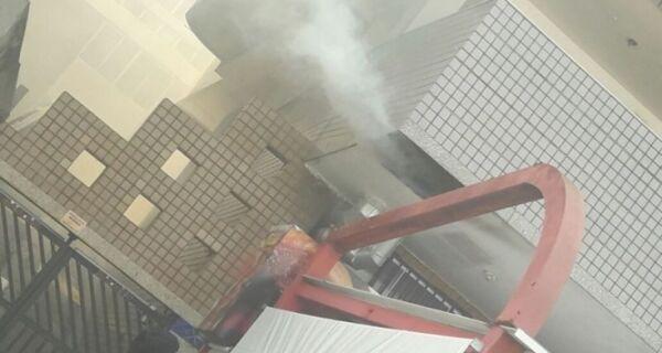 Princípio de incêndio no Restaurante da Hilda assusta na Praia do Forte