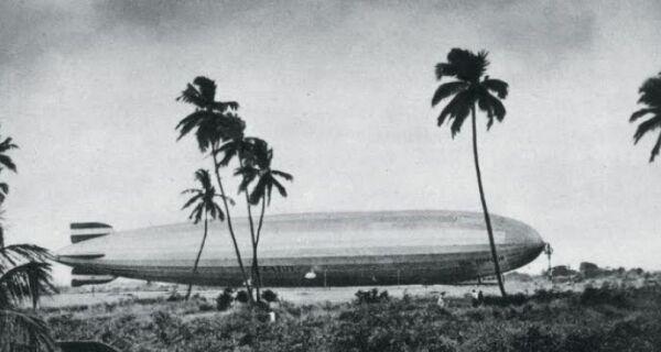 Leandro Miranda palestra sobre queda de dirigível em Arraial na Segunda Guerra