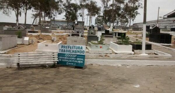 Cemitérios de Cabo Frio devem receber 5 mil pessoas durante feriado de Finados