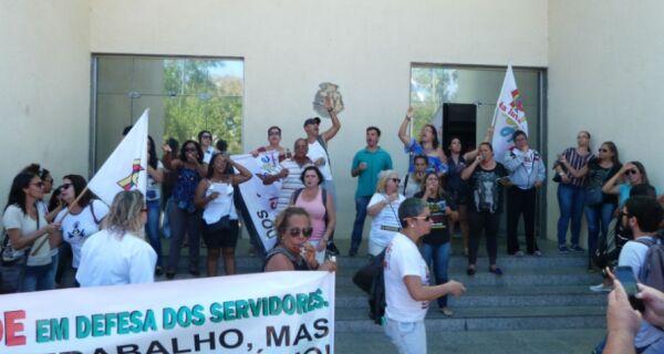 Funcionalismo municipal entra em greve a partir desta quinta-feira (9)