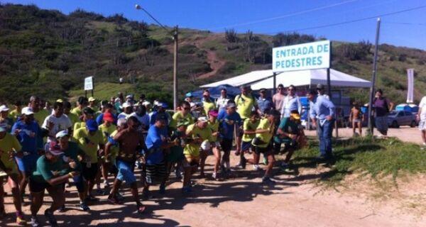 Praia das Conchas recebe corrida ecológica neste domingo (12)