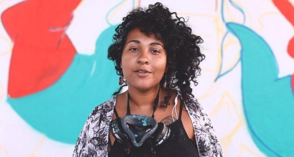 Grafiteira cabofriense expõe no Espaço Torres do Cabo