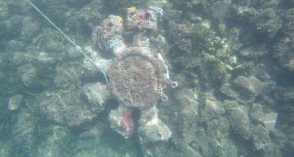 Mistério sobre peça encontrada no mar