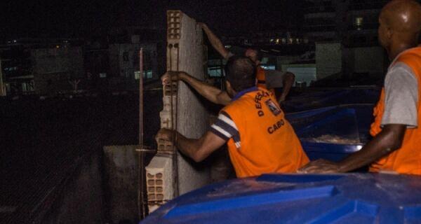 Defesa Civil interdita imóveis na Vila Nova