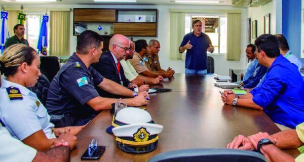 Reunião define ordenamento e segurança para o Carnaval