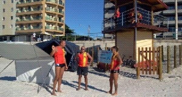Bombeiros comemoram verão sem mortes nas praias da região