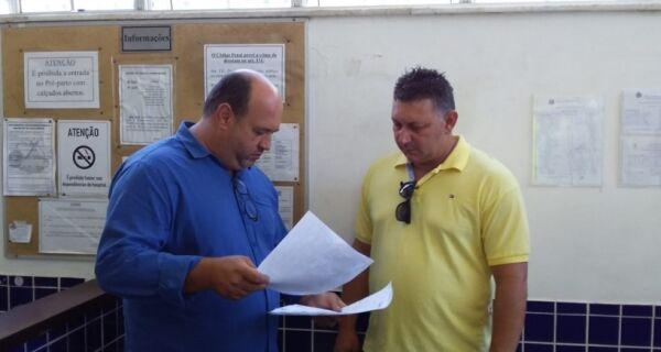 Direção do Hospital da Mulher entrega documentos para CPI da Câmara