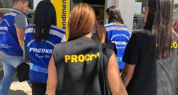 Procon aperta fiscalização sobre bancos em Cabo Frio