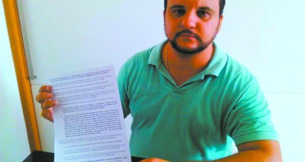Vereador Rafael Peçanha quer impeachment do prefeito Adriano Moreno
