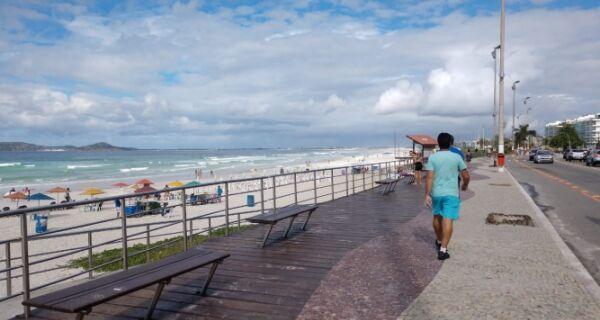 Previsão é de tempo chuvoso em Cabo Frio até o domingo