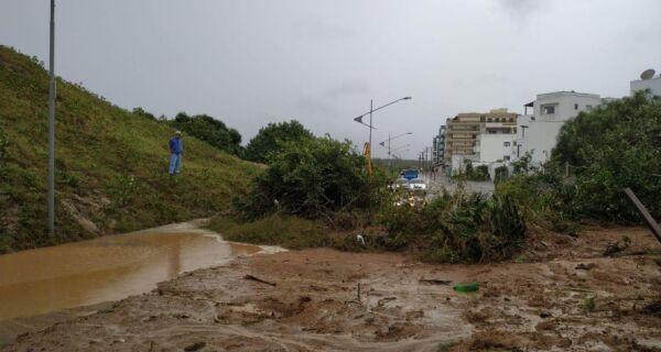 Prefeitos da região reúnem-se com Witzel para tratar dos problemas causados pela chuva