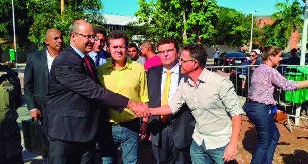 Witzel promete investimentos para a região
