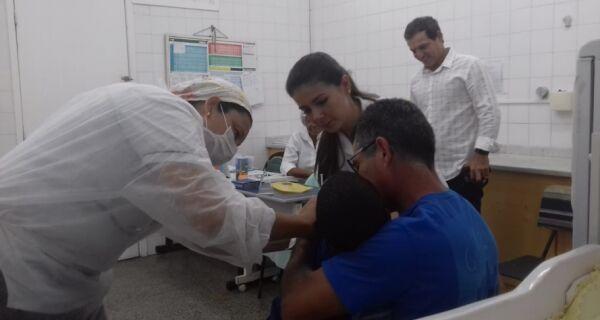 Secretaria de Estado de Saúde prorroga vacinação contra a gripe por mais quinze dias