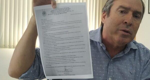 Adriano diz que acusação de Cláudio Leitão é lamentável