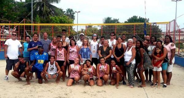 Inscrições para torneio de vôlei de praia sub-15 terminam nesta quinta