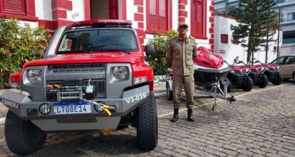 Grupamento recebe nova frota de veículos