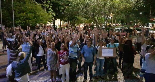 Depois da Educação, demais servidores decidem fazer greve geral