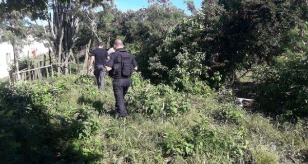 Polícia faz buscas no entorno do Minha Casa, Minha Vida