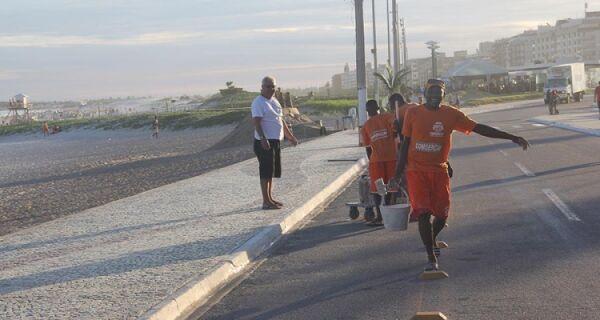 Comsercaf prepara esquema de limpeza para o feriado de Corpus Christi