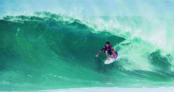 Saquarema sedia mundial de surf a partir de quinta-feira