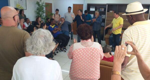 Meri Damaceno fica fora de reunião sobre cultura no gabinete do prefeito nesta quarta