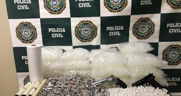 Polícia Civil realiza mega operação contra o tráfico em Arraial do Cabo