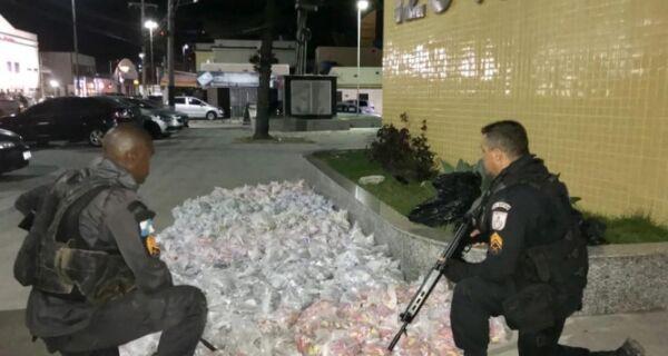 Polícia intercepta carregamento de drogas que iria abastecer facção na Região dos Lagos