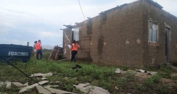 Defesa Civil de São Pedro registra ocorrências após ventos de 80 Km/h