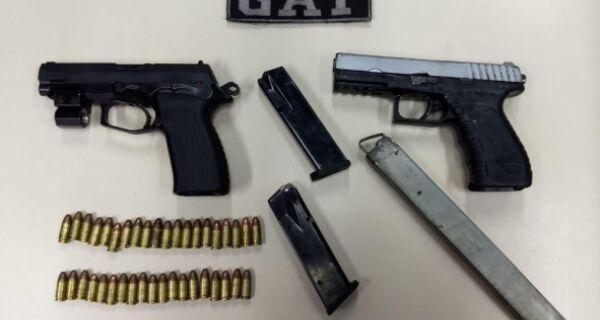 Quatro são detidos em operação no Manoel Corrêa