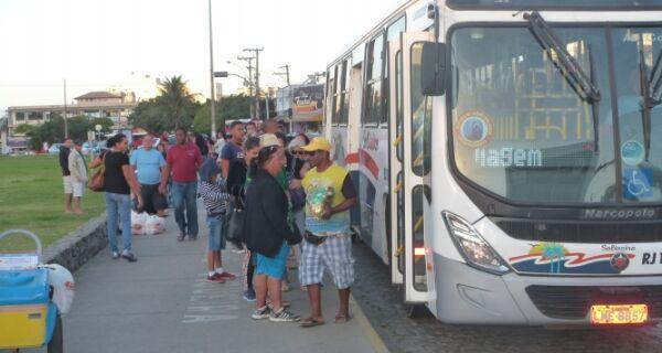 Ônibus da linha entre Cabo Frio e distritos de Arraial passam a ir até Pernambuca nesta quinta (1º)