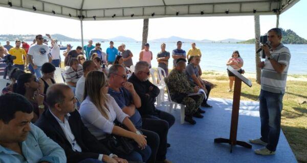Guardas ambientais se reúnem para abertura do defeso da Lagoa de Araruama