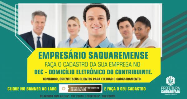Prefeitura de Saquarema alerta para prazo de cadastramento no DEC