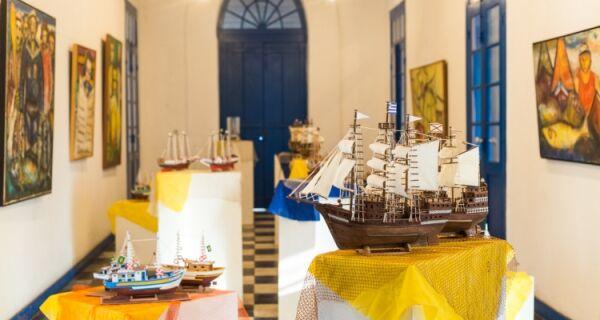Charitas recebe exposição de miniaturas de barcos neste sábado (3)
