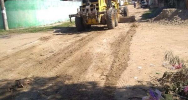 Bairros recebem serviço de manutenção em São Pedro da Aldeia