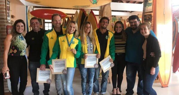 Atletas da região que disputaram o Pan são homenageados em Cabo Frio