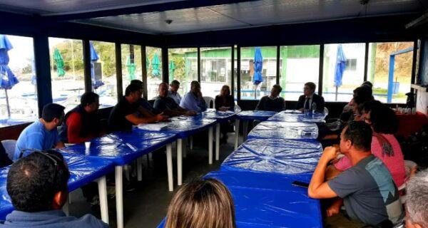 Reunião é ponto inicial para acordo na Praia das Conchas