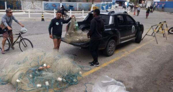 GAMA realiza operação contra a pesca ilegal no período de defeso da Lagoa