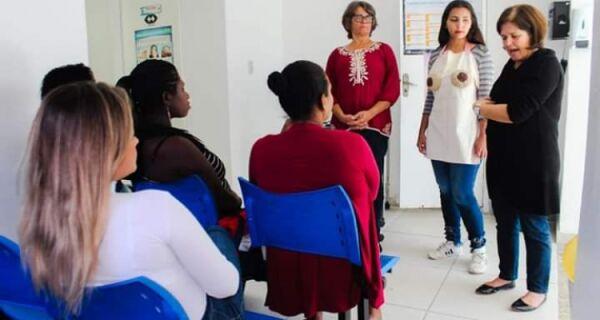 Iguaba participa da Semana de Amamentação